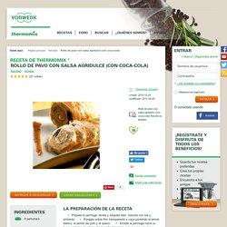 Rollo de pavo con salsa agridulce (con coca-cola) by Thermomix Vorwerk on www.recetario.es