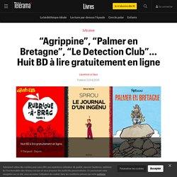 """""""Agrippine"""", """"Palmer en Bretagne"""", """"Le Detection Club""""... Huit BD à lire gratuitement en ligne"""