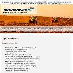 Agro-biomass