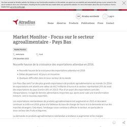 Le secteur agroalimentaire en Pays Bas