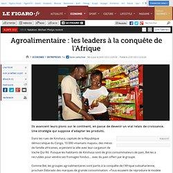 Sociétés : Agroalimentaire : les leaders à la conquête de l'Afrique