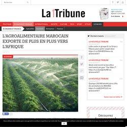 L'agroalimentaire marocain exporte de plus en plus vers l'Afrique