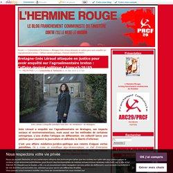 Bretagne-Inès Léraud attaquée en justice pour avoir enquêté sur l'agroalimentaire breton : l'affaire devient politique ( France3-20/05/20-15h47)