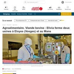 Agroalimentaire. Viande bovine: Elivia ferme deux usines à Eloyes (Vosges) et au Mans