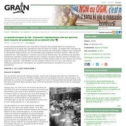 La grande arnaque du lait : Comment l'agrobusiness vole aux pauvres leurs moyens de subsistance et un aliment vital