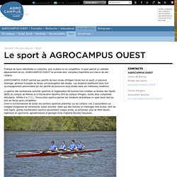AGROCAMPUS OUEST - Sport