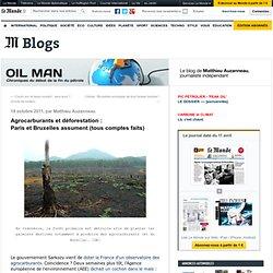 Agrocarburants et déforestation : Paris et Bruxelles assument (tous comptes faits)