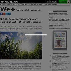 Brésil : Des agrocarburants bons pour le climat… et les sols tropicaux