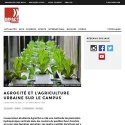 AgroCité et l'agriculture urbaine sur le campus - Impact Campus