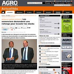 AGRO DISTRIBUTION 08/11/13 Néonicotinoïdes interdits Les semenciers demandent une rallonge pour écouler les stocks