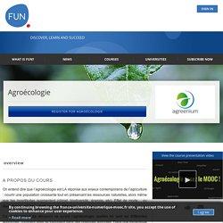 Agroécologie (inscription jusqu'au 4 octobre 2015)