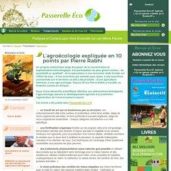 Agricultiver - L'agroécologie expliquée en 10 points