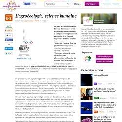L'agroécologie, science humaine