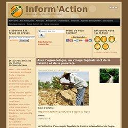 Avec l'agroécologie, un village togolais sort de la fatalité et de la pauvreté