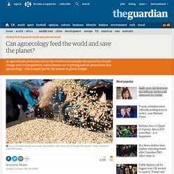Can agroecology feed the world and save the planet?