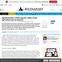 MEDIAPART 27/06/17 Agroforesterie: l'arbre paysan, totem d'une agriculture qui se cherche