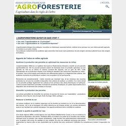 définition - Association Française d'agroforesterie