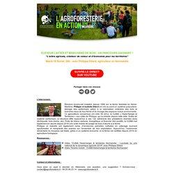 """""""L'agroforesterie en action"""" - série Webinaire"""