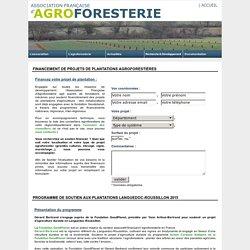 Programmes de soutien financier à la plantation de parcelles agroforestières - Association Française d'Agroforesterie