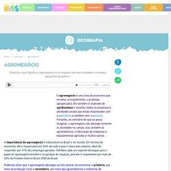 Agronegócio. Atividade econômica do agronegócio - Escola Kids