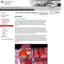 CONFEDERATION SUISSE - Nitrate/Nitrite