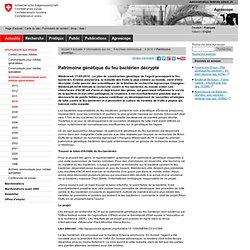AGROSCOPE DE CHANGINS 11/05/11 Patrimoine génétique du feu bactérien décrypté