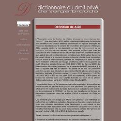 AGS - Définition