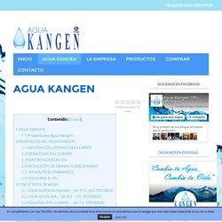 El milagro del Agua Kangen
