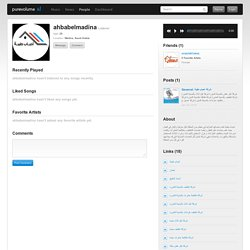 ahbabelmadina on PureVolume.com™