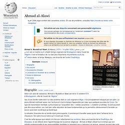 Ahmad al-Alawi