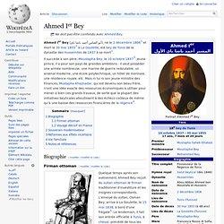 Ahmed Ier - Bey 1806-1855