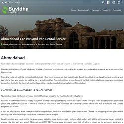 Ahmedabad Car, Bus and Van Rental Service - Suvidha Taxi Diu