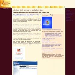 Ahnlab - Anti-spywares gratuit en ligne