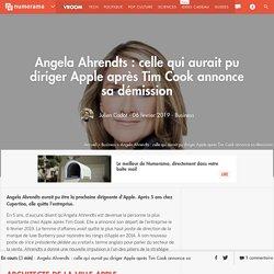 Angela Ahrendts : celle qui aurait pu diriger Apple après Tim Cook annonce sa démission - Business