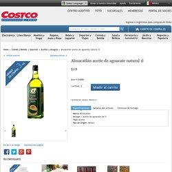 Costco Mexico - Ahuacatlán aceite de aguacate natural 1l
