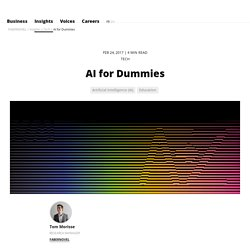 AI for Dummies // FABERNOVEL