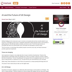 AI and the Future of UX Design