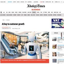 AI key to customer growth