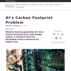 AI's Carbon Footprint Problem
