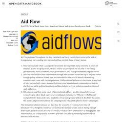 Aid Flow