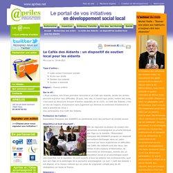 - Le Cafés des Aidants : un dispositif de soutien local pour les aidants
