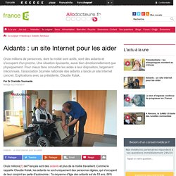Aidants : un site Internet pour les aider