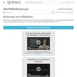 Aide:Wikipédia pas à pas