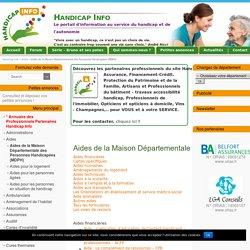 Aides de la MDPH - Renseignements MDPH