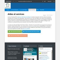 Aides et services - Région Hauts-de-France