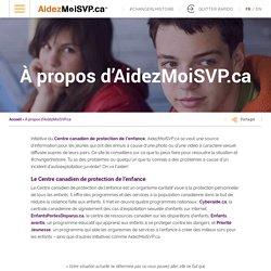 AidezMoiSVP.ca – À propos d'AidezMoiSVP.ca