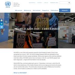 AIDS - factsheet