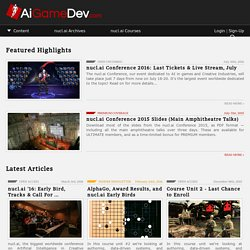 AiGameDev.com | Your Online Hub for Game/AI