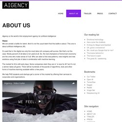 AIGENCY » ABOUT US