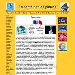 Aigue marine Santé Pierres